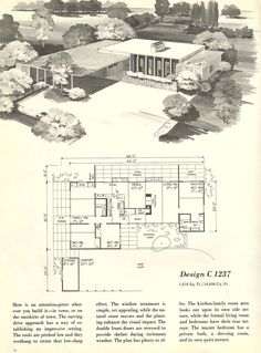 Container House - Vintage House Plans, homes, mid century homes - Who Else Wants Simple Step-By-Step Plans To Design And Build A Container Home From Scratch? Modern Floor Plans, Modern House Plans, Modern House Design, Modern Houses, The Plan, How To Plan, Ranch House Plans, House Floor Plans, Mcm House