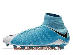 quality design d0e13 07d78 Nike Hypervenom Phantom 3 DF FG Sport Blue 860643 104 Chaussure de football  à crampons pour terrain