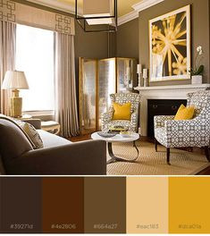8 Rich Color Schemes That Prove Brown Based Designs Aren T Boring