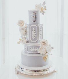 This cake is so pretty! Susan Wheeler, Beautiful Wedding Cakes, Beautiful Cakes, 38th Birthday, Wedding Cake Inspiration, Pretty Cakes, Celebration Cakes, Yummy Cakes, Fondant