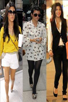 Kourtney Kardashian's style is to die for!