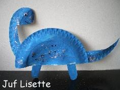 kids crafts dino, he'll love this :)