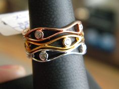 Three rings can be stackable!