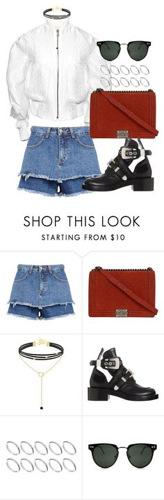 """""""Untitled #1729"""" by emmastrouse ❤ liked on Polyvore featuring Chanel, Balenciaga, ASOS and Spitfire"""