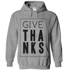 View images & photos of GIVE THANKS TEE t-shirts & hoodies