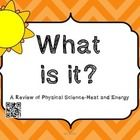 Heat and Energy Vocabulary with QR codes Weather Vocabulary, Vocabulary Words, Rain Gauge, Thermal Energy, 5th Grade Science, Earth Science, Natural Disasters, Middle School