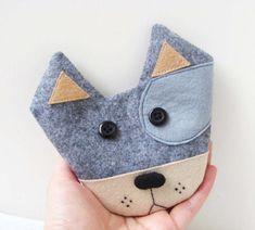 Cute Doggie coin purse by yofi design | Sewing Ideas