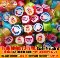 #happybirthday #handmade #candy #gifts #gifting #rockcandy #birthdayfavours #favors #singapore #bestcandy