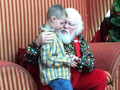 "GRANDVILLE, Mich. – A magical moment was caught on camera when Santa Clause empathized with a child with autism worried his disability would put him on the ""naughty list."" What the man in red did n..."