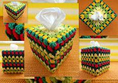 crochet tissue box cover ile ilgili görsel sonucu