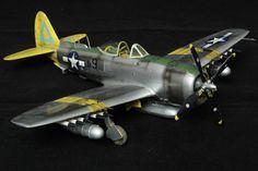 """Atelier Le Ferme: P-47N Thunderbolt """"Chautauqua"""", Academy 1/48"""