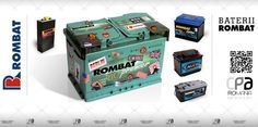 Acumulatori auto, baterii auto ROMBAT.  Baterii de pornire,Baterii pentru aplicatii speciale.  ROMBAT - Castigi din start