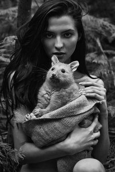 Originale Dschungelshooting - Germany's next Topmodel 2016