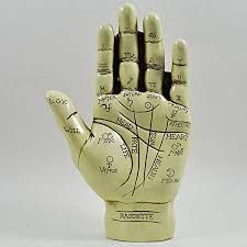 Fairy and New Age Palmistry Hand Palm Reading Mind Antique Style Chiromancy Figurine Happy Larry Back Tattoos Spine, Back Tattoo Women, Sydney, Melbourne, New Age, Carapace, Resin Sculpture, Palm Reading, Head And Heart