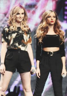 Perrie and Jade. Beauties, jades hairs quite light in this picture xx