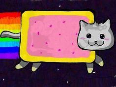 "Nyan Cat Internet Web ""memes"" Meme Cartel De Impresión De Pared De Arte De La Pintura"
