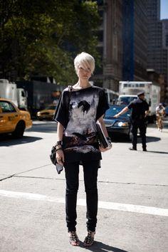 Kate Lanphear,  Elle US fashion editor