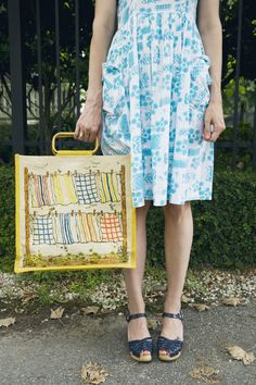 Ok! I'm ready for summer! I want that dress and those shoes! : )