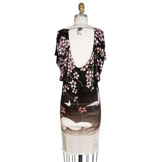 a3804d190c1029 Tom Ford for Gucci Floral Stretch Mini Dress, Spring 2003 For Sale at  1stdibs