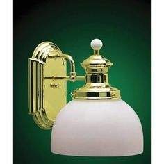 Volume Lighting V4901 Aberdeen Wall Sconce with 1 Light and White Cased Glass | Overstock.com Shopping - The Best Deals on Sconces & Vanities