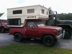 Ford Bronco Camper Conversion   Click the image to open in full size.