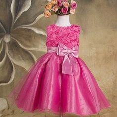 2474b8a7a šaty pre najmenšie družičky, dievčenské spoločenské šaty Kids Prom Dresses,  Baby Girl Dresses,