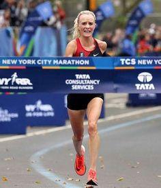 Shalene Flanagan pictures,wins New York City Marathon