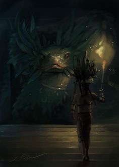 Quetzalcoatl by KEileena.deviantart.com on @deviantART