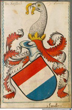 Scheibler'sches Wappenbuch Süddeutschland, um 1450 - 17. Jh. Cod.icon. 312 c  Folio 209
