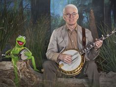 "Steve Martin and Kermit the Frog in ""Dueling Banjos"" = Awesome"