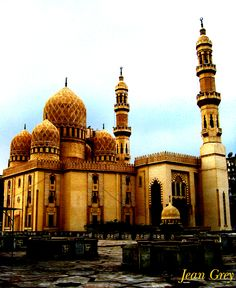 ::::    PINTEREST.COM christiancross    ::::    Abu Al-Abbas Mosque, Egypt | مسجد أبو العباس في مصر