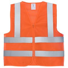 Workplace Safety Supplies Safety Clothing Reflective Polyester Mesh Vests With Pockets For Construction Worker In Summer Silk Screen Company Logo Printing