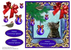 Christmas Paws - CUP727414_1459 | Craftsuprint