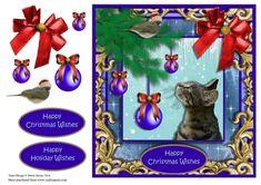 Christmas Paws - CUP727414_1459 | Craftsuprint