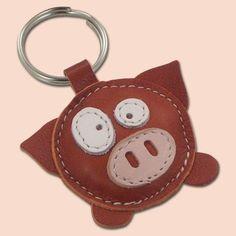 porte-clé cochon