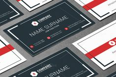 Creative Business Card Template by AntartStock on Creative Market
