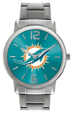 Women's Game Time Watches 'NFL All Around - Miami Dolphins' Bracelet Watch