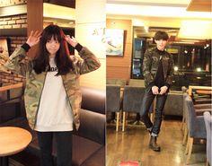 Korean Fashion Blog online style trend Daily Fashion, Fashion Online, Korean Image, Blog Online, Korean Fashion, Fur Coat, Jackets, Fashion Trends, Style
