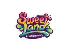 Sweet Land (not for sale) by Alan Oronoz on Dribbble logo, Sweet Land (not for sale) Inspiration Logo Design, Typography Inspiration, Typography Design, Lettering, 2 Logo, Logo Branding, Branding Design, Gfx Design, Game Logo Design