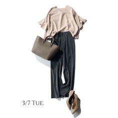 ほんのり華やかオフィスコーデから春色コーデまで|Marisol ONLINE|女っぷり上々!40代をもっとキレイに。