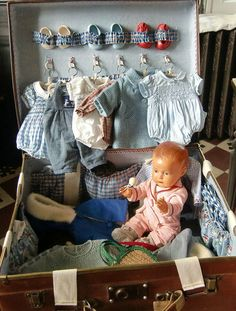 Smocked Doll Clothes!