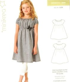 Peasant dress with extra elastic under chest