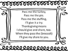 Pass Me the Turkey song with cup game composition