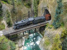 Model Train Scenery | ... Great Canadian Model Railroad: Dave Chomyn's Quintette Tunnels Modules