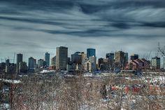 Edmonton, Alberta, Canada Skyline