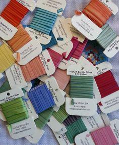 Planet Earth Fiber Silk Ribbon