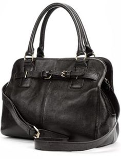 Zenith Leather Convertible Satchel