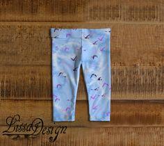 Jambières pantalons Leggings bébé imprimés par CreationLissaDesign Baby Fabric, Leggings, Clothes, Fashion, Bebe, Trousers, Outfits, Moda, Clothing