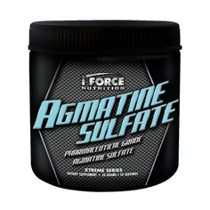 IFORCE Agmatine Sulfate Vasodilating Pump Supplement