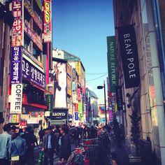 Shop till you drop at Myeongdong in Seoul, Korea #banyantree #seoul #korea